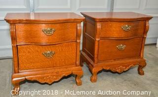 (2) Two Lexington Bedside Tables