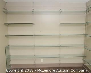 Glass and Wire Shelves