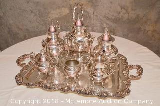 Birmingham Silver Company Tea Set