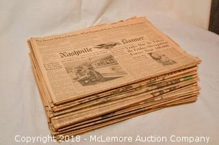 1945 Nashville Newspapers