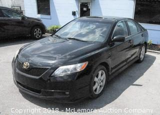 2007 Toyota Camry with a 2.4L L4 DOHC 16V Engine