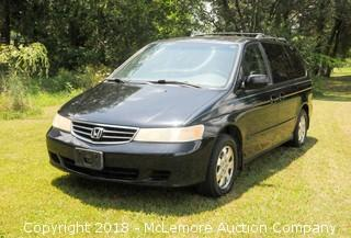 2003 Honda Odyssey EX-L with Leather and Navigation with 3.5L V6