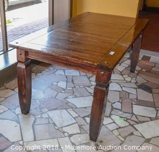 Rustic Dining Table from Pier 1