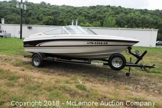 1997 Chaparral 1830 SS Ski Boat 4.3L V6 Mercruiser with Trailer and Cover