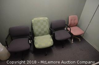(4) Office Chairs