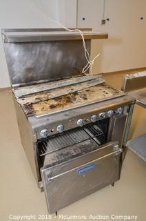 Imperial 6-Burner Gas Range and Oven