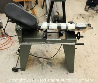 """Central Machinery 4 1/2"""" Metal Cutting Band Saw Model 37151"""