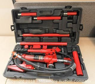 Pittsburg Automotive 8,000lb (4 Ton) Heavy Duty Portable Hydraulic Equipment Kit