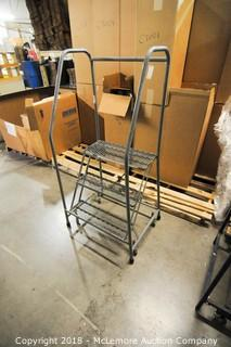 ULine Warehouse Rolling Stairs
