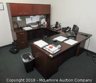 U Shaped Executive Wooden Desk