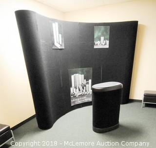 Trade Show Display Set with Rolling Packing Cart