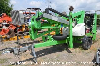 Nifty TM42T Trailer Mounted Cherry Picker Lift