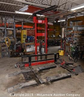 Heftee 2000 Professional Mower Equipment Lift