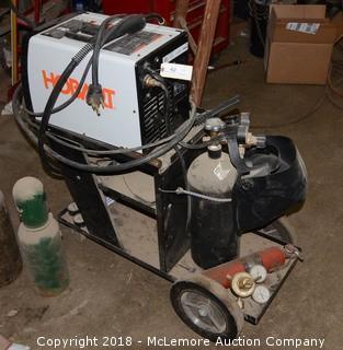 Hobart Handler 190 230V Wire Feed Welder on Cart