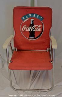 Vintage Coca-Cola Lawn Chair
