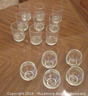 Quantity 14  Cordial Glasses