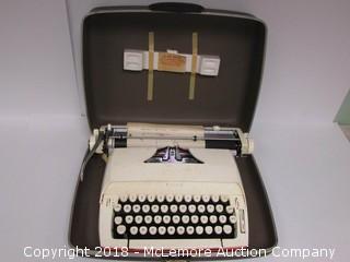 Vintage Sears Typewriter with case