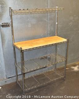 Table Station & Shelf