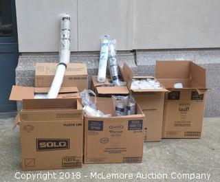 Assortment of Plastic & Paper Cups