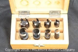 Tenon and Plug Cutting Drill Bit Set