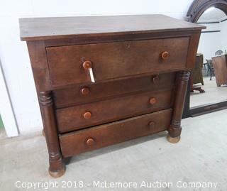 4 Drawer Antique Dresser