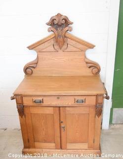 Antique Wooden Wash Stand