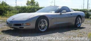 1999 Chevrolet Corvette 5.7L Engine