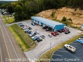 1.535 ± Acres and One 5,600± sf Commercial Building Including Auto Repair Shop