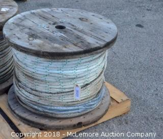 Approximately 1,000 feet of 5/8 Rope on a Spool