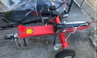 Speedco 15 Ton Horizontal Towable Log Splitter