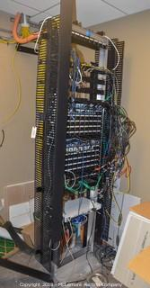 Server Rack, Everything on Rack is Included