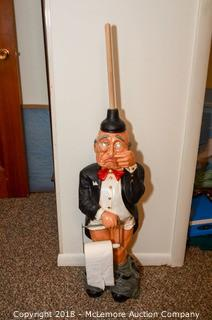 Butler Toilet Paper Holder