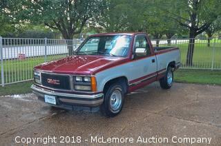 1989 GMC Sierra C/K 1500 5.7L V8