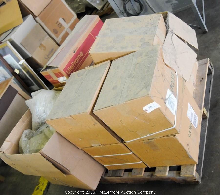 McLemore Auction Company - Auction: Scissor Lifts, Lighting, Office