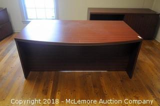 LaCasse 6 Drawer Executive Desk
