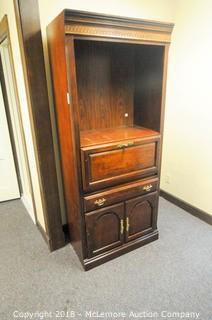 Wooden Secretary Cabinet