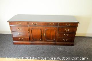 National Mt. Airy 7 Drawer Credenza