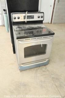 GE Range Top Oven with Stainless Look