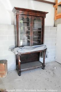 Antique Buffet China Cabinet