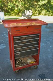 Craftsman Tool Cabinet with MAC Tools Top