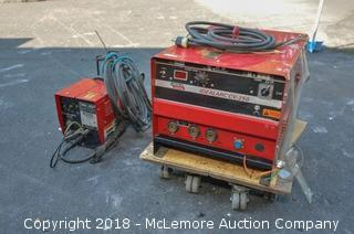 (2) Lincoln Electric MIG Welders