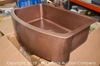 Sinkology Copper Farmhouse Style Sink