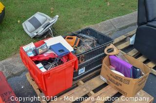 Assorted Tools, Boat Seat, Items