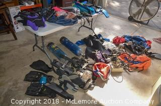 Assorted Scuba Gear and Tanks