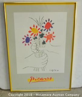 Framed Picasso Print