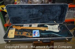 Fender Stratocaster Guitar with Case