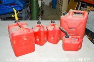 (5) Gas Tanks