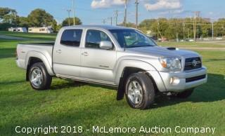 2011 Toyota Tacoma 2WD TRD Package, 54K Miles