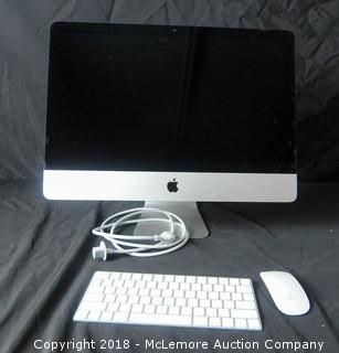 "Apple iMac 21.5"", Model A1418 Serial Number D25TP122GG7F"