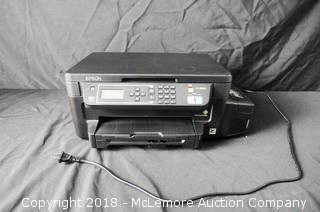 EPSON ET-3600 Printer Copier Model C532B WiFi Ethernet